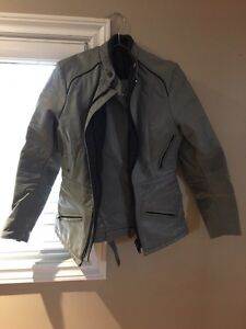 Woman's gray leather riding suit  Windsor Region Ontario image 1