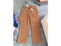 Carhart work jeans size 30w 30l