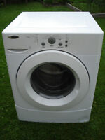 Front loaded washer
