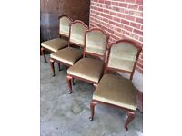 X4 Dining chairs for sale