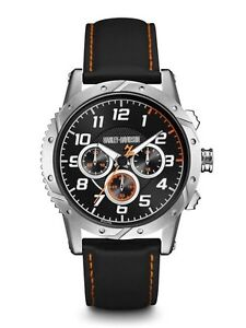 Brand New With Tags* Harley-Davidson Men's Watch 76B171