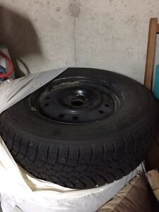Nordman SUV Winter Tires On Rims (4) Sarnia Sarnia Area image 4