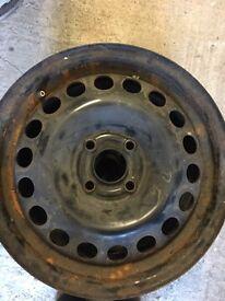 """Vauxhall 15""""4 stud pair of 2 steel rims"""
