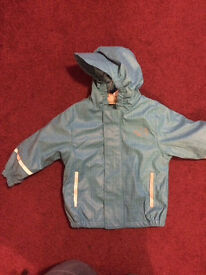 Waterproof coat 12-24 mths
