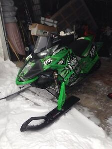 Arctic cat snoX sled