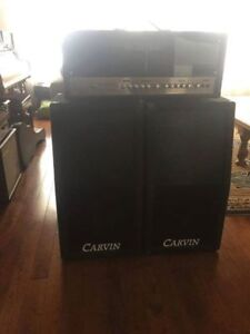 2 Carvin C212 cabinets