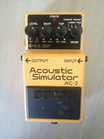 Boss Acoustic Simulator Pedal AC-2
