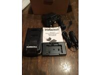 New Duracell ultra fast digital camera charger Sony Kodak Nikon Samsung