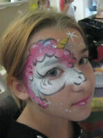FACE PAINTING/ Holiday window painting and children's murals