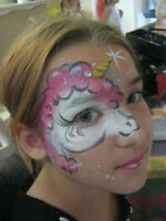 FACE PAINTING/ Holiday window paining and children's murals