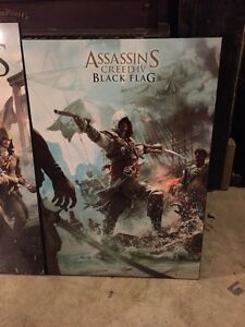 Selling wood assassins creed posters Belleville Belleville Area image 1