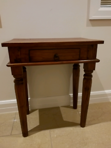 Brown colour wooden table Templestowe Lower Manningham Area Preview