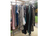 Ladies clothes & shoes massive bundle size 8/10