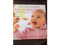 Annabel Karmel Top 100 Baby Purees Book