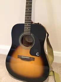 Epiphone PRO-1 Acoustic guitar, great condition
