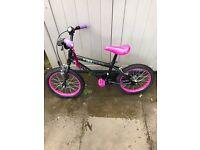 Girls Tinkerbell Bike.