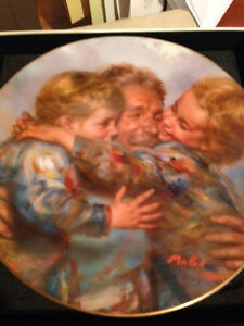 Grandest Gift - Reunion - Collector Plate Royal Doulton