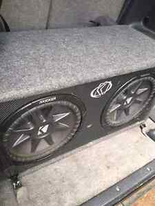 2 kicker 12inch subs Menzies Mt Isa City Preview
