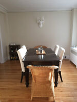 6 1/2, atwater,downtown/westmount heating and hot water included