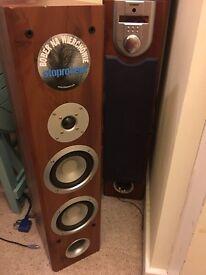 2 Goodmans Loud Speakers