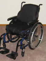 Lightweight Helio Wheelchair new condition- 50% original cost