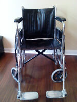 LIGHT WIGHT BRAND NEW FOLDABLE WHEELCHAIR