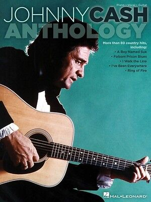 Johnny Cash Anthology Sheet Music Piano Vocal Guitar SongBook NEW 000307259