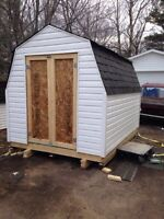 Sheds, baby barns , garages decks and more