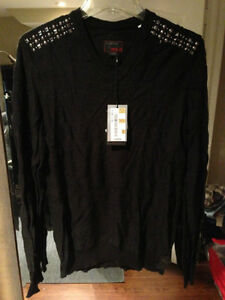 Energie sweater with studs size L fits M used in excellent cond
