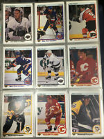 CARTE HOCKEY UPPER DECK 1989-90 SERIE COMPLETE