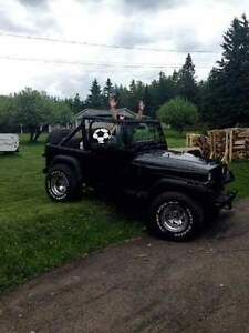 1987 Jeep Wrangler Convertible