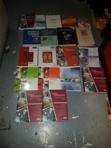 Nursing books (college boreal)