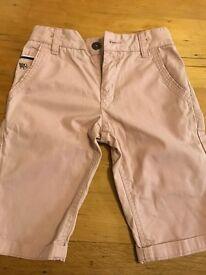 Boys salmon jasper conran shorts
