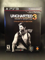 PS3 - Uncharted 3: Drakes Deception Collector's Edition