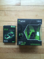 Xbox 360 Games/ Turtle Beach Headphones with aux kit in box