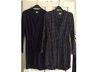 Two Gap shirt dresses