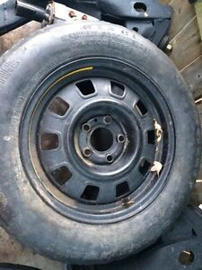 Spare tire from/for an old Volvo