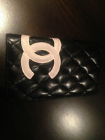 Chanel Wallet - original black and white w authenticity card
