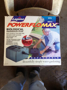 NEW LAGUNA POWERFLO expandable biological underwater  filter