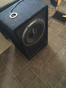 Sub & amp for sale