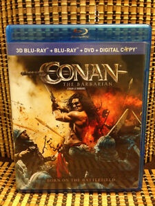 Conan the Barbarian 3D (2-Disc Blu-ray/DVD) Remake. Game Of Thro