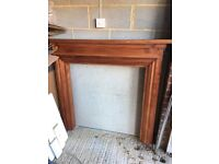 Fire surround and back panel