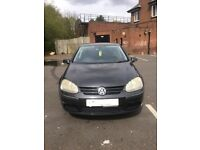 VOLKSWAGEN GOLF MARK 5 2.0 FSI 6 SPEED MANUAL BREAKING