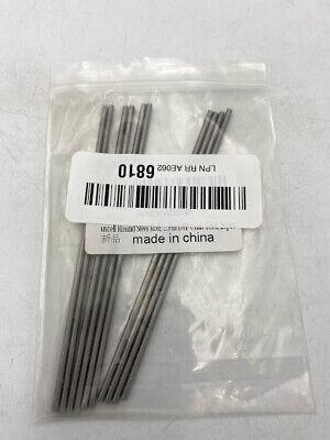 10 Pcs Round Steel Rod 3mm Hss Lathe Bar Stock Tool 100mm Longfor Shaft Gear