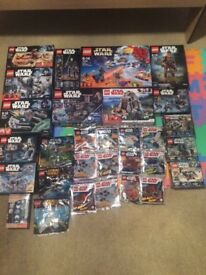 40+ Lego Star Wars All Brand New