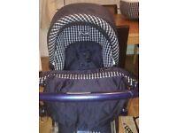 Mamas and papas pram and pushchair