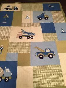 Boys Quilt with sham - Twin