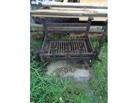 Fire grate , indoor or outdoor use