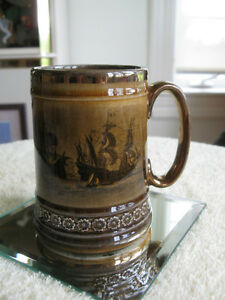 PINT-SIZED LITTLE ROYAL VISTAS-WARE BEER STEIN [ENGLAND]