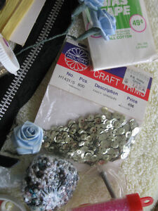 CLUSTER of ODDS & SODS for SEWING & CRAFTS